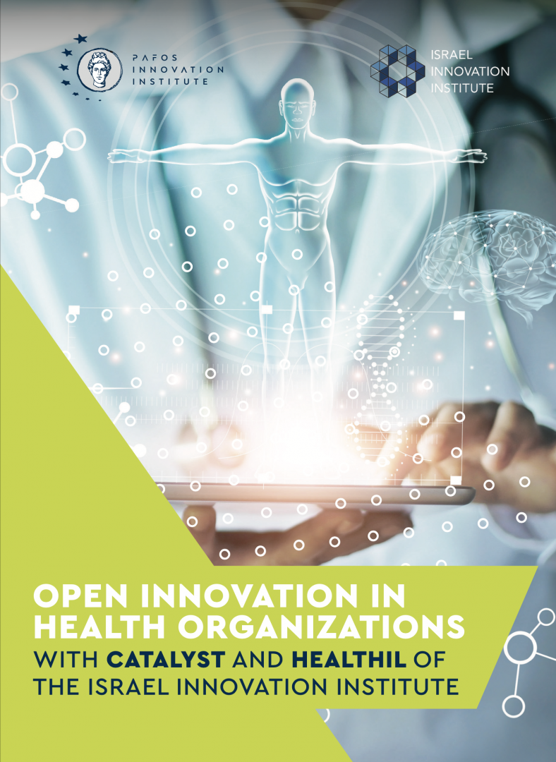 OPEN INNOVATION IN HEALTH ORGANIZATIONS Brochure Cover